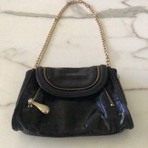 Beautiful Hobo Black Chain Bag—NEW—Excellent Cond!